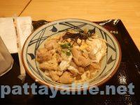 丸亀製麺の親子丼