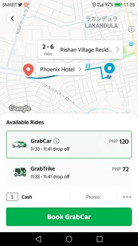 Grab Car スクリーンショット (4)