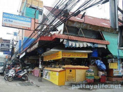 パタヤカン市場食堂街 (1)