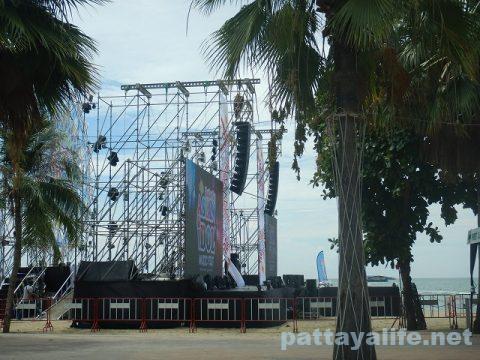 アジアンアイドルミュージックフェストパタヤビーチステージ