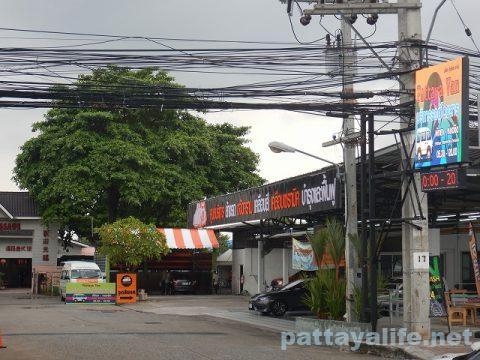 Pattaya Van ロットゥー乗り場