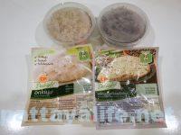 タイのコンビニ飯ライスベリーライスと玄米とサラダチキン (4)