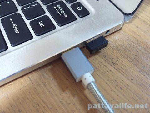 mini HDMI to HDMI ケーブルでPCとテレビを接続 (8)