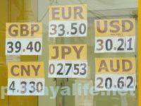 パタヤ近況2020年1月 両替レート (1)