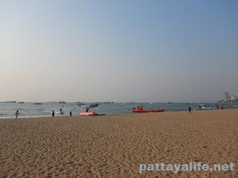 パタヤビーチ2020年2月 (5)