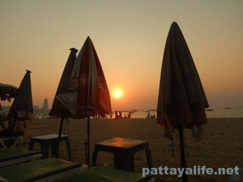 パタヤビーチ2020年2月 (9)