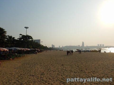 パタヤビーチ2020年2月 (7)