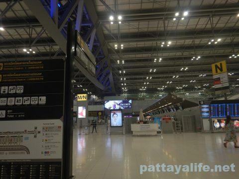 パタヤからスワンナプーム空港経由ドンムアン空港へ関空へ (4)