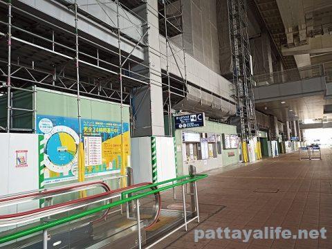 パタヤからスワンナプーム空港経由ドンムアン空港へ関空へ (21)