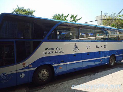 エカマイからパタヤバス