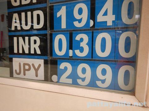 両替レート2020年3月