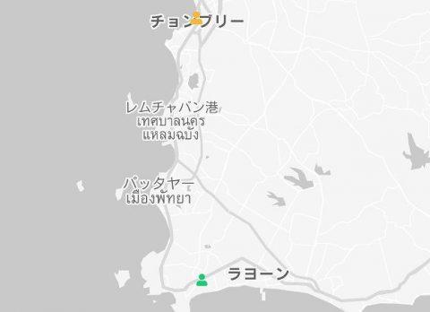 タイ感染オンラインマップ COVID-19 News Tracker (3)