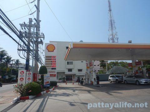 パタヤガソリンスタンド