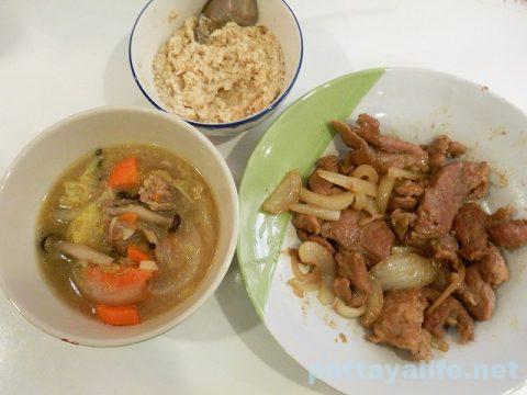 豚の喉肉で鍋と焼き肉コームーヤーン (12)