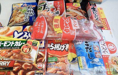 日本の調味料と食材
