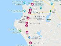 パタヤロックダウン地図4月13日改訂版