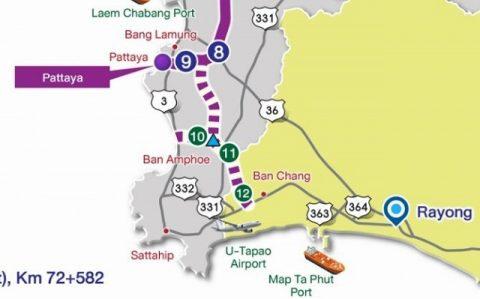 モーターウェイ7号線地図 (2)