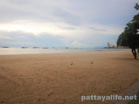 パタヤビーチ2020年5月 (2)