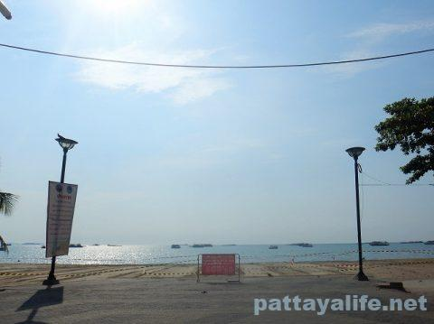 パタヤビーチ2020年5月12日