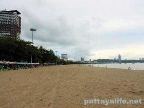 パタヤビーチ2020年6月2日 (3)