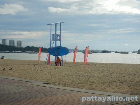 パタヤビーチ20200629 (2)