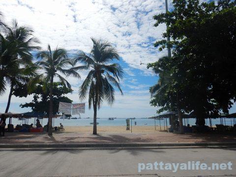パタヤビーチ2020年7月 (2)