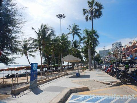 ジョムティエンビーチ2020年8月 (3)