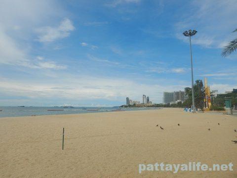 パタヤビーチ20209月 (2)
