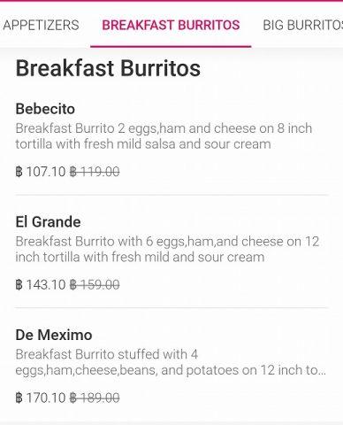 パタヤのブリトー 3 Bz Burritoz (13)