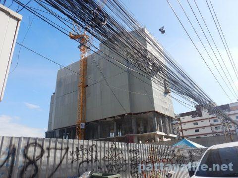 センタンパタヤ前のホテル建設 (1)
